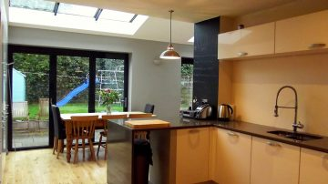 kitchen extension haslington