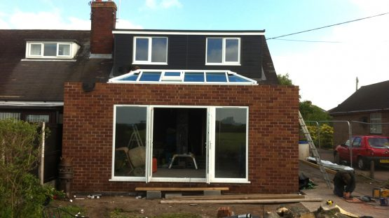 kitchen extension loft conversion sandbach