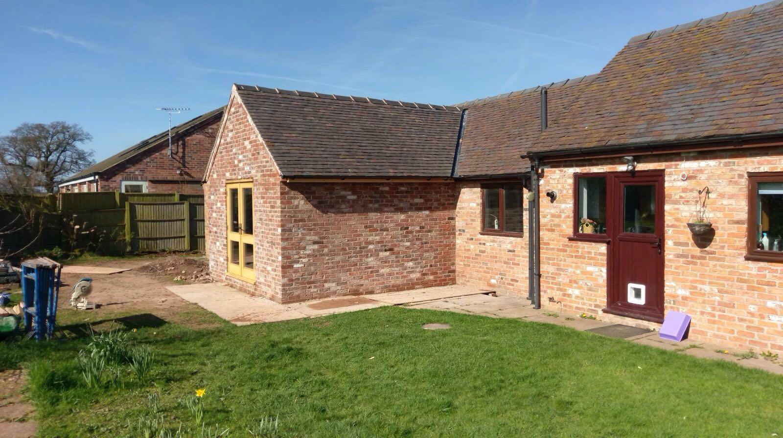 Extension Barn Conversion Wrenbury Cheshire