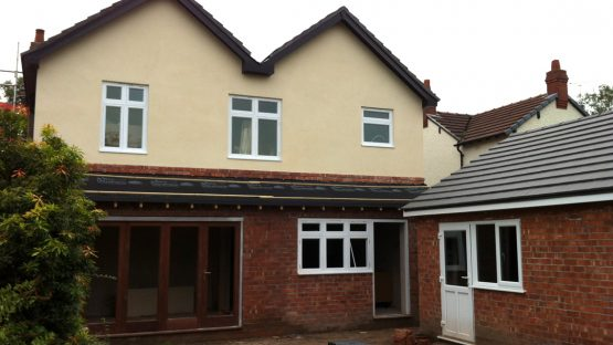 rear extension and renovation haslington