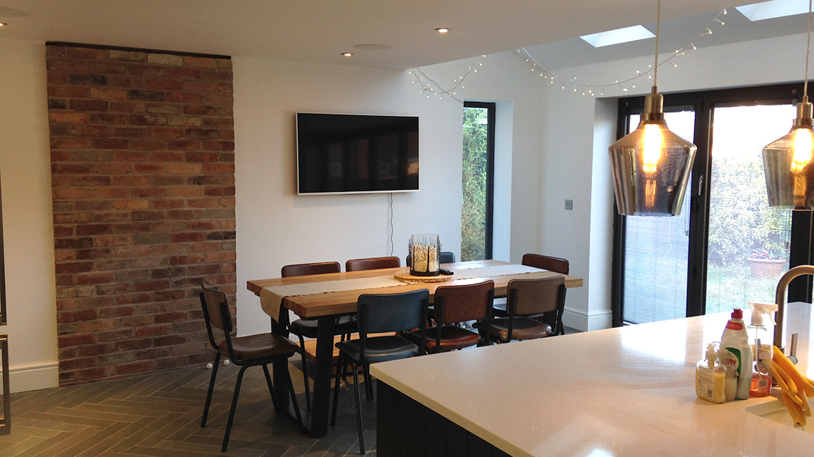 home extensions cheshire
